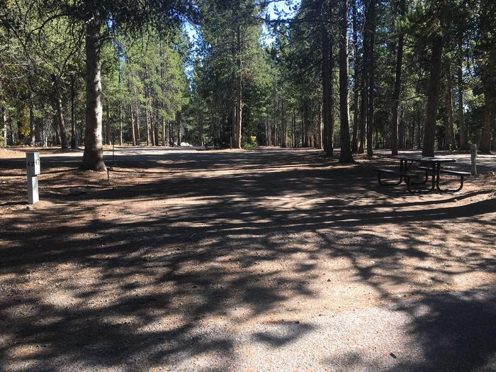 A photo of Site 42 of Loop D at Colter Bay RV Park with Full Hookup