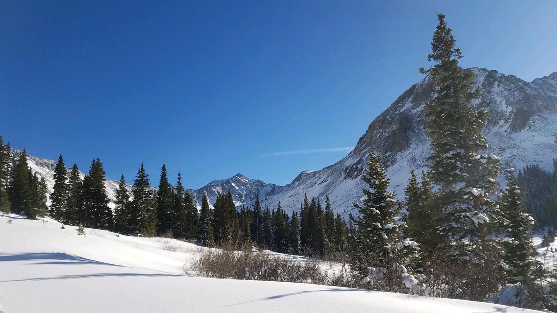 Bluebird Day near Freemont Pass