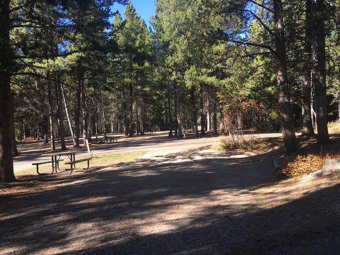A photo of Site 69 of Loop I at Colter Bay RV Park with Full Hookup