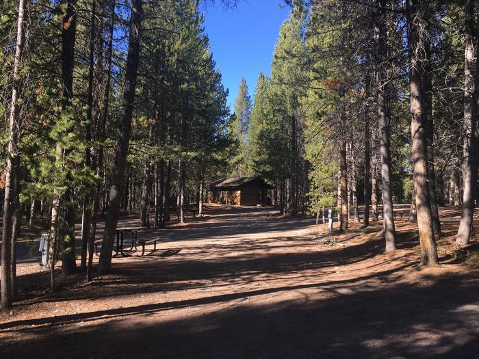 A photo of Site 84 of Loop K at Colter Bay RV Park with Full Hookup