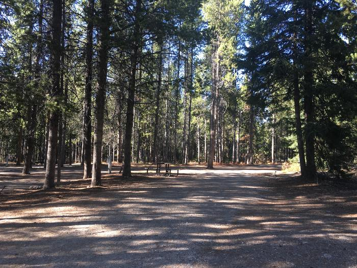 A photo of Site 96 of Loop M at Colter Bay RV Park with Full Hookup