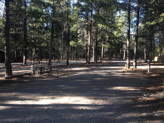 A photo of Site 75 of Loop J at Colter Bay RV Park with Full Hookup