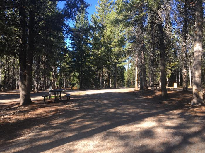 A photo of Site 89 of Loop L at Colter Bay RV Park with Full Hookup