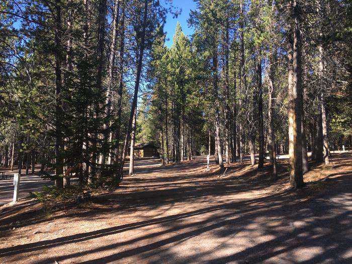 A photo of Site 78 of Loop J at Colter Bay RV Park with Full Hookup