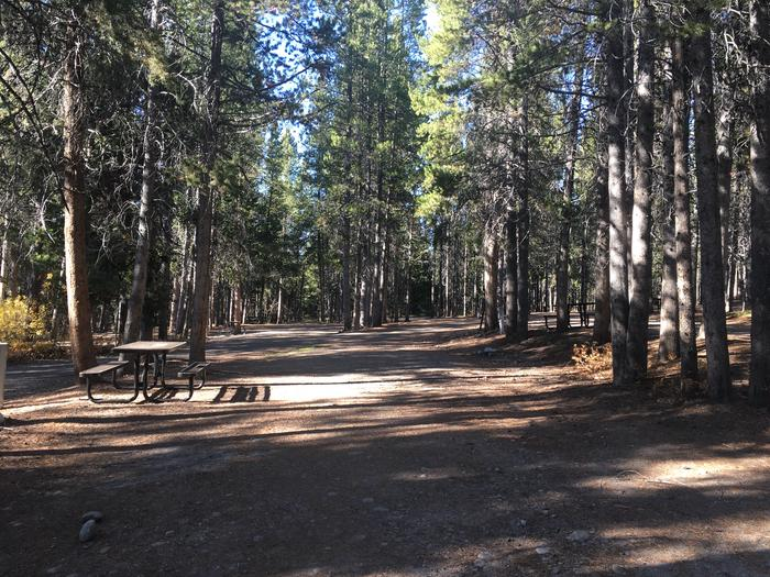A photo of Site 103 of Loop N at Colter Bay RV Park with Full Hookup