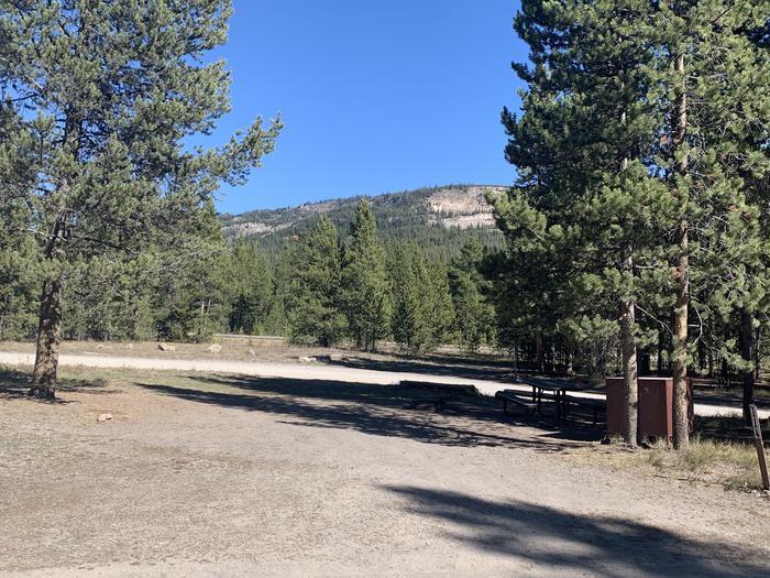 Tent Site 114 Exterior