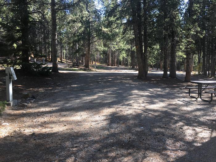 A photo of Site 64 of Loop H at Colter Bay RV Park with Full Hookup