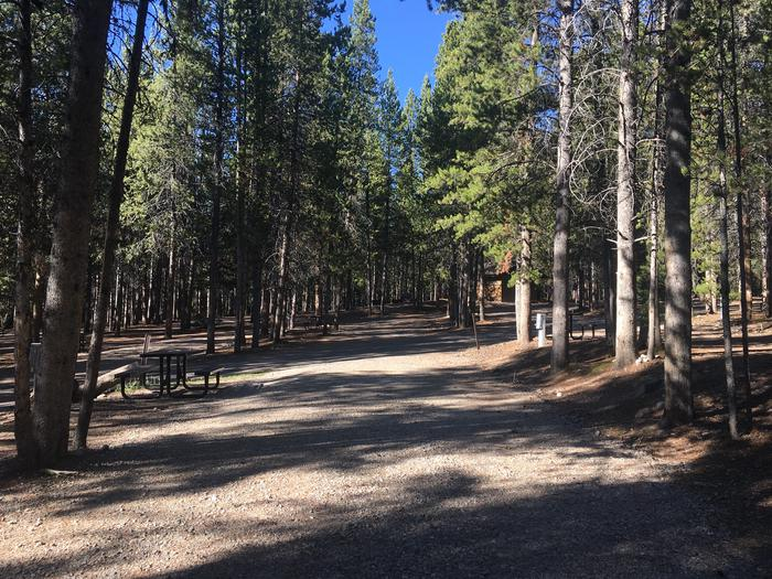 A photo of Site 85 of Loop K at Colter Bay RV Park with Full Hookup