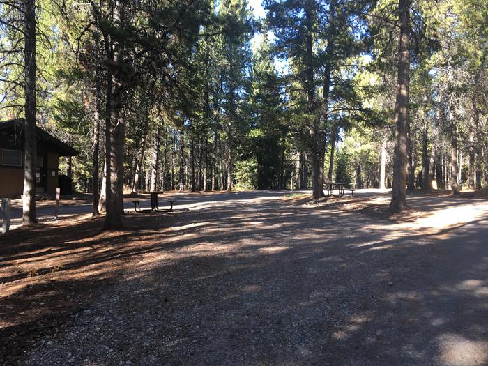 A photo of Site 90 of Loop L at Colter Bay RV Park with Full Hookup