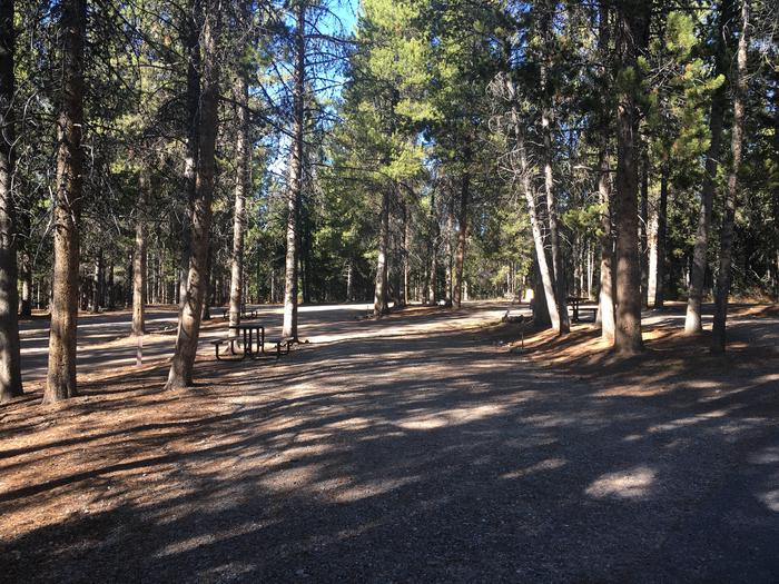 A photo of Site 82 of Loop K at Colter Bay RV Park with Full Hookup
