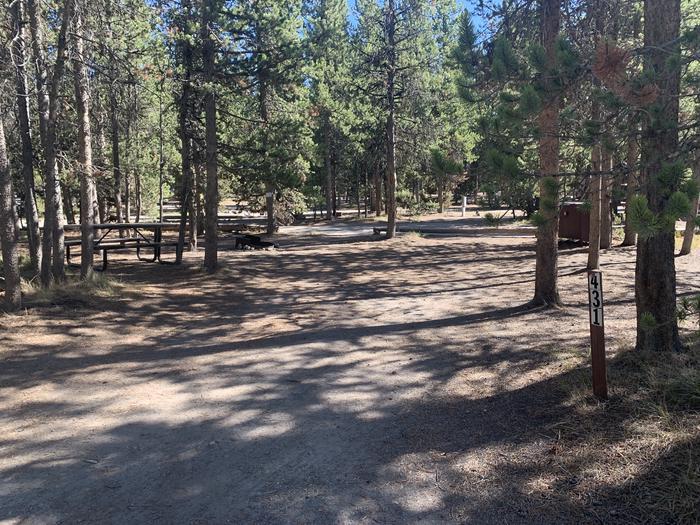 Tent Site 431 Exterior