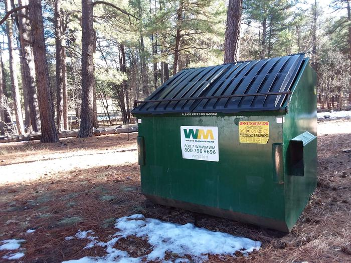 Long Valley Work Center Campground: waste disposal units on siteLong Valley Group CG