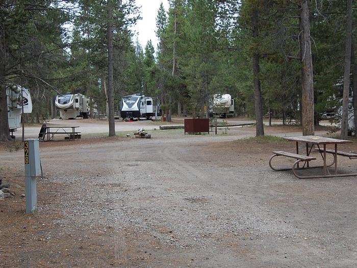 RV Site 328 Exterior