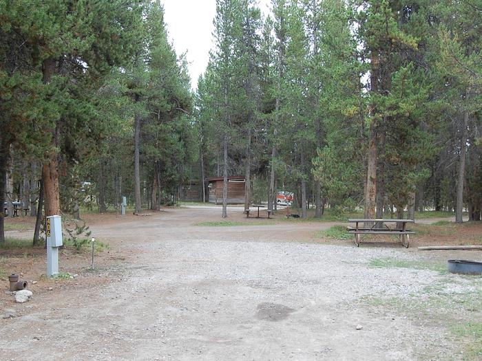 RV Site 406 Exterior
