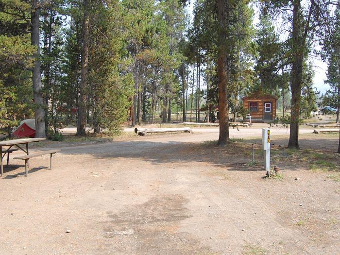 RV Site 410 Exterior