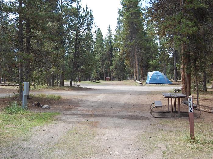RV Site 412 Exterior