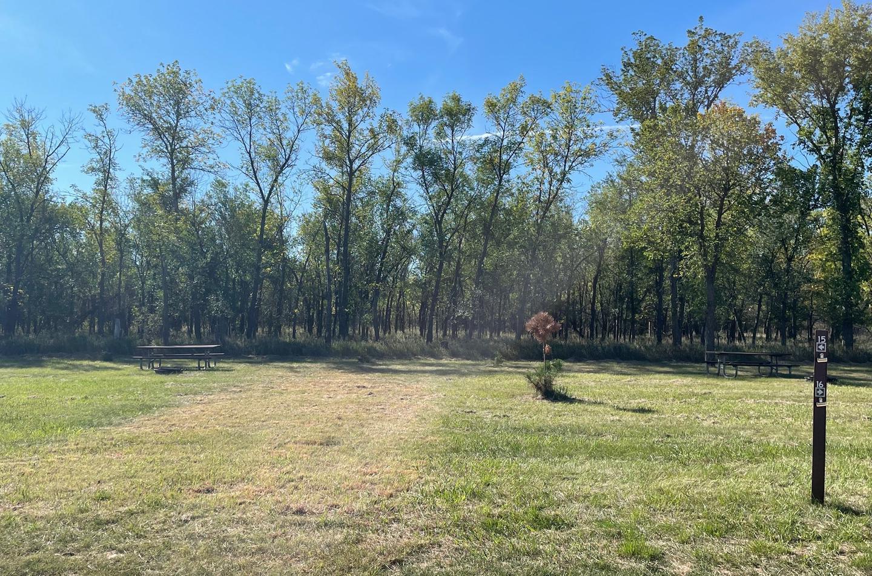 Campsite #15 Wolf Creek Campground
