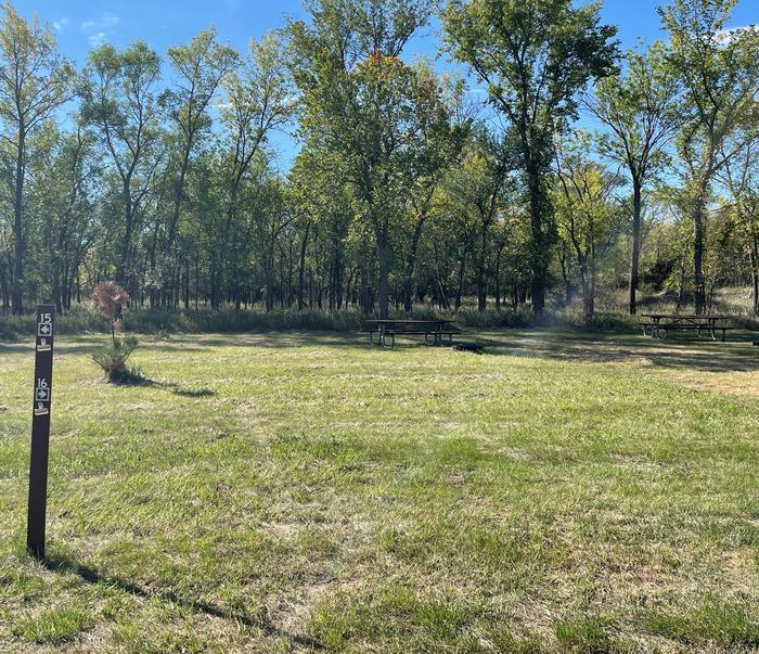 Campsite #16 Wolf Creek Campground
