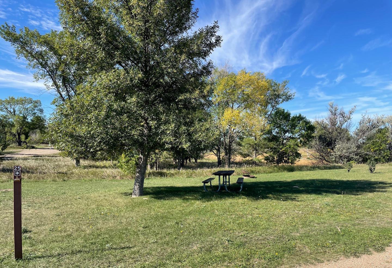 Campsite #25 Wolf Creek Campground