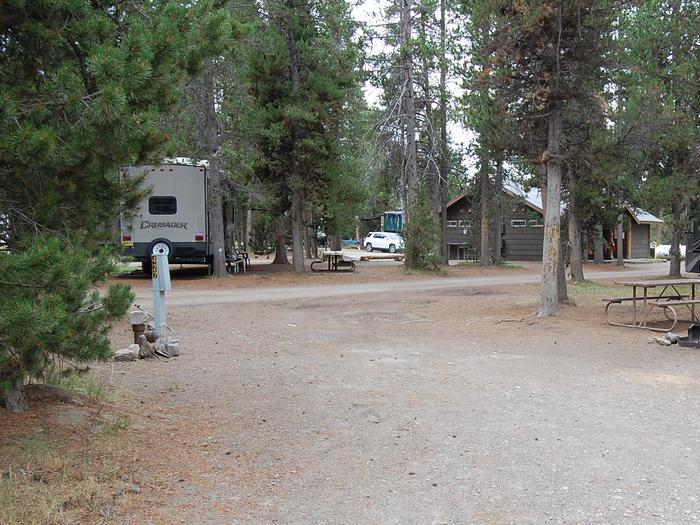 RV Site 422 Exterior