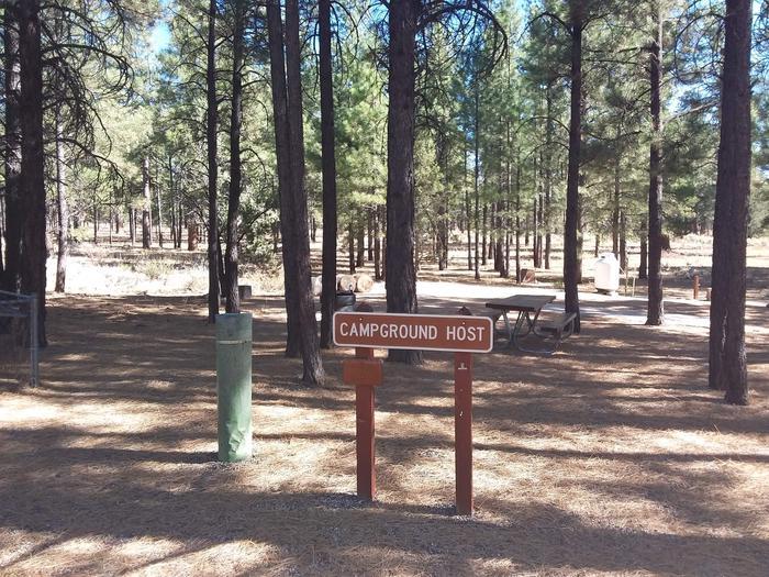 TEN-X Campground Host Site