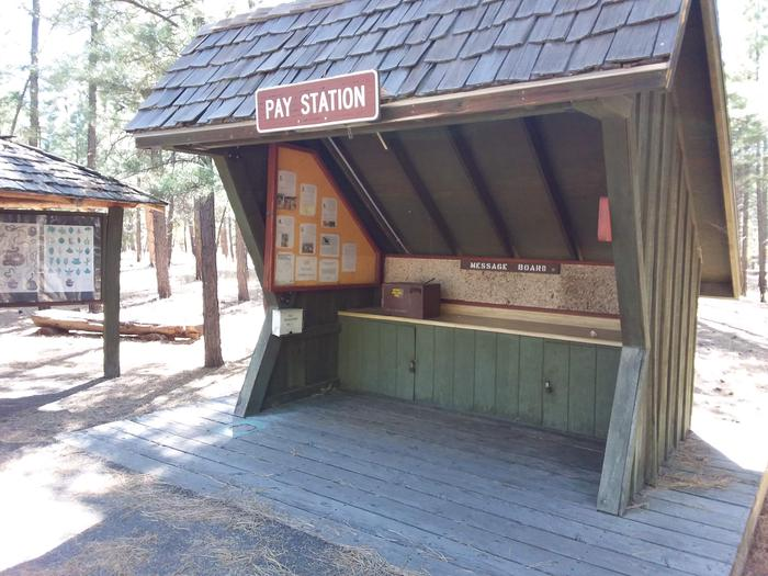 TEN-X Campground Message Board and Pay Station