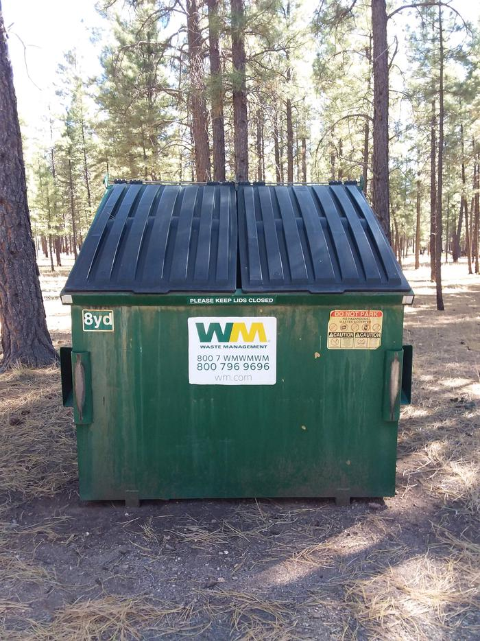 TEN-X Campground Trash Collection