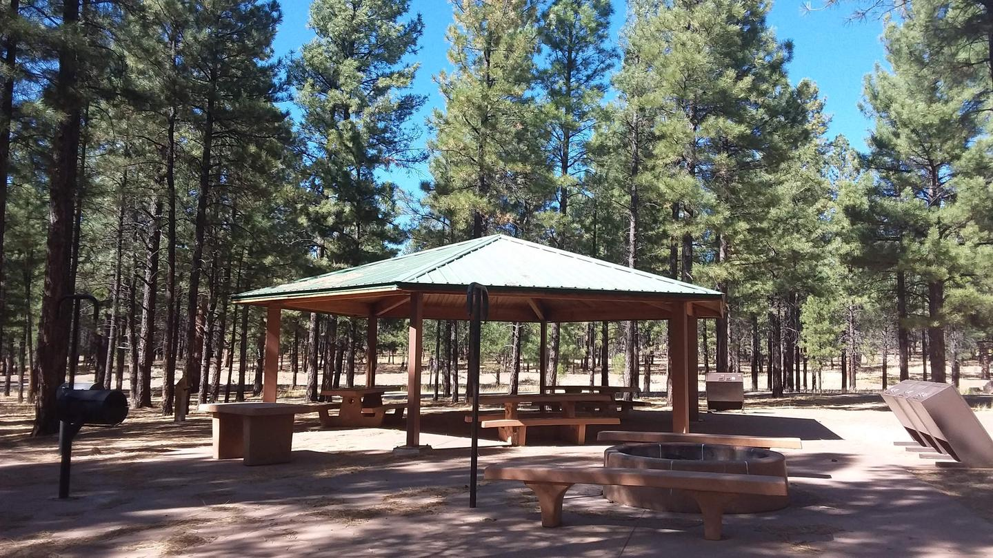 TEN-X Campground Group Site