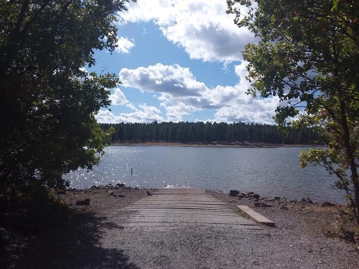 Dogtown lake boat ramp