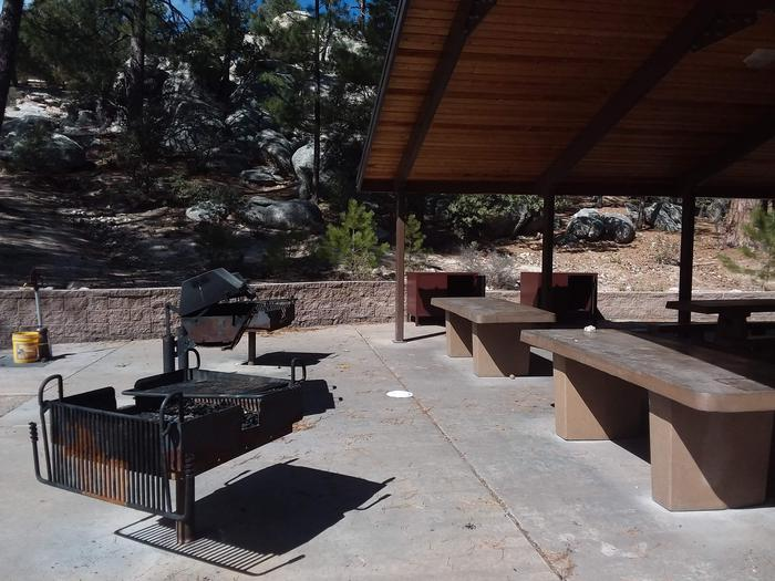 Group picnic area.