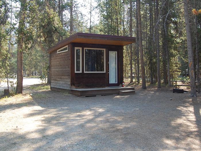 Camper Cabin Site 604 Exterior