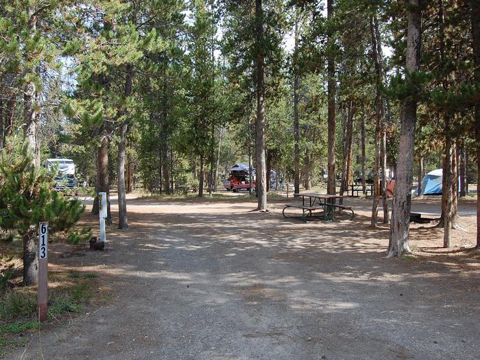 RV Site 613 Exterior