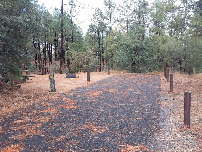 Hilltop Campground Loop C Site 37: parkingHilltop Campground Loop C Site 37