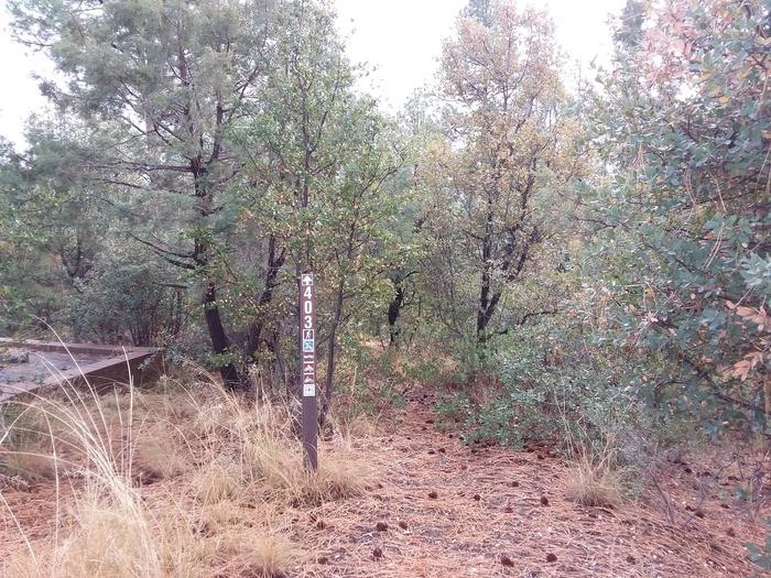 Lynx Campground Loop F Trail HeadLynx Campground