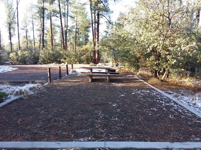 Campsite 27 open space for tent placementCampsite 2 open space for tent placement