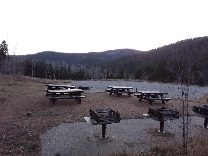 Group B camp area