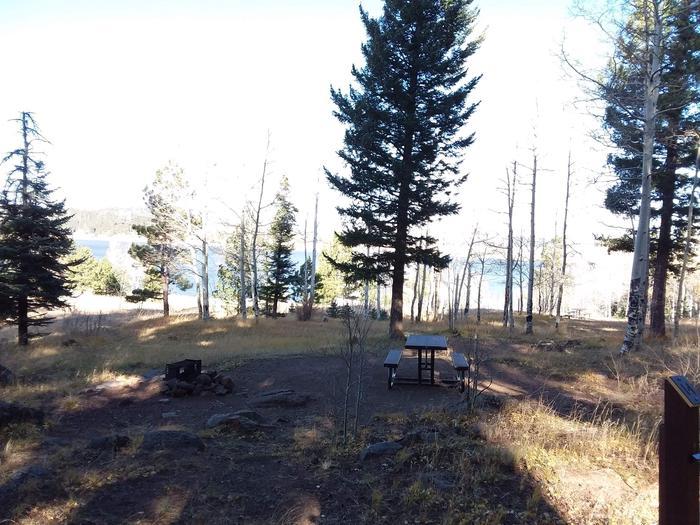 Cutthroat Campground Site 14Cutthroat Campground