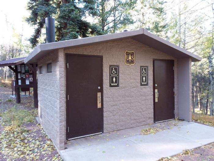 Cutthroat Campground Restrooms On SiteCutthroat Campground