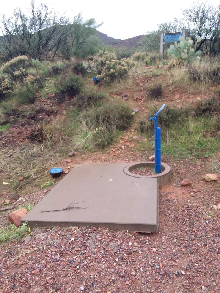 Frazier Campsite water pump