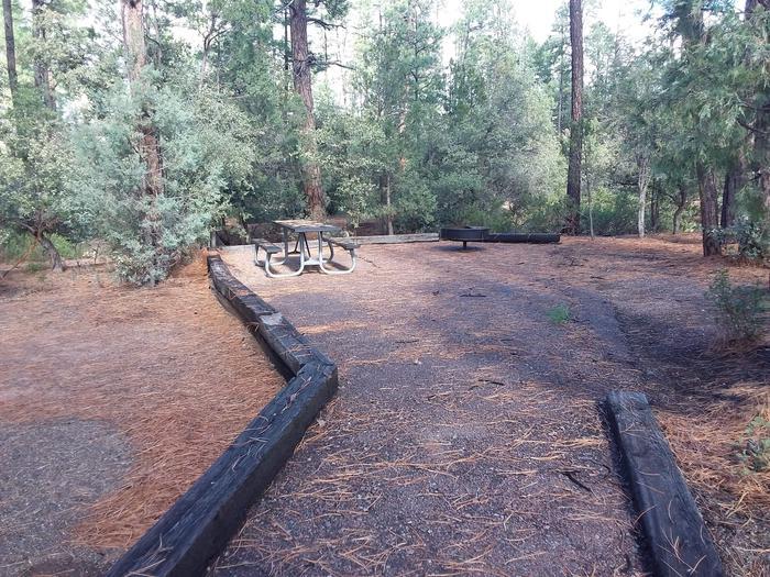 Houston Mesa, Black Bear Loop site #23