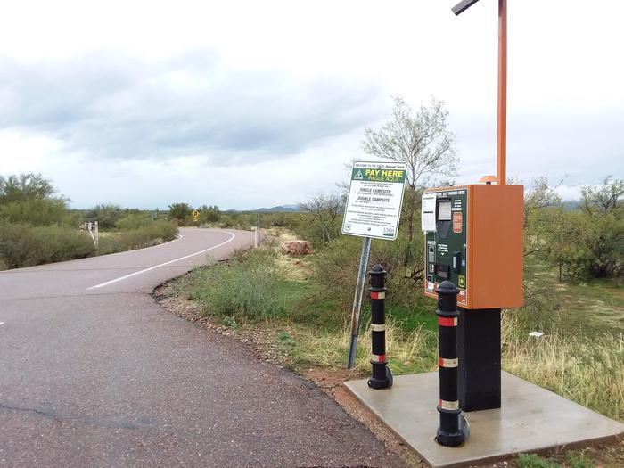 Schoolhouse Campground Self-pay Station