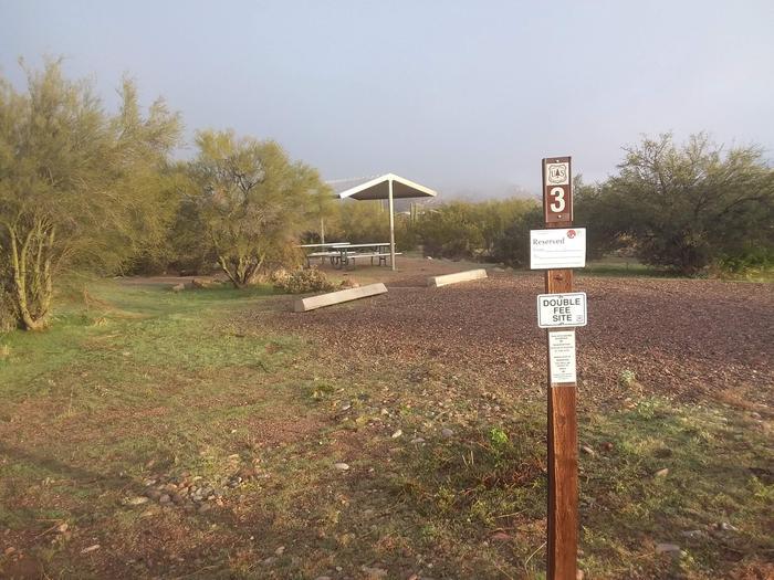 Windy Hill Campground Coati Site 003