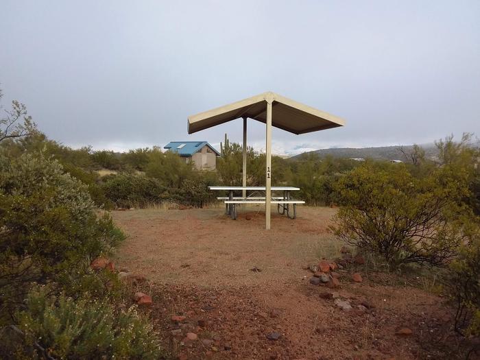 Windy Hill Campground Coati Site 011: quick access to restroomsWindy Hill Campground Coati Site 011