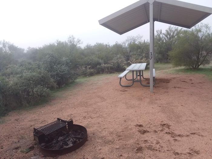 Windy Hill Campground Coati Site 017