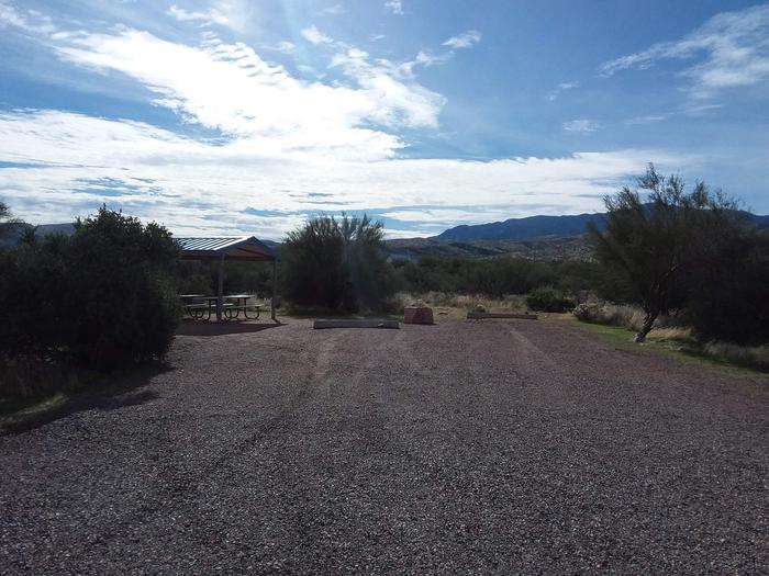 Site 4 parking area.
