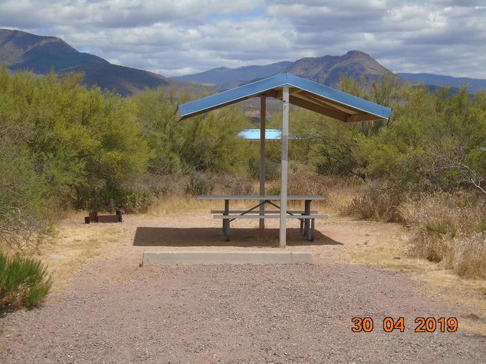 Campsite 29 at Cholla CampgroundCampsite 29, Cholla Campground