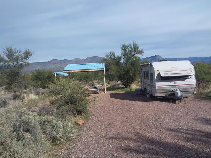 Campsite 31 at Cholla CampgroundCampsite 31, Cholla Campground