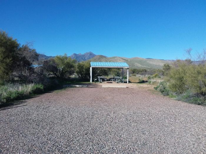 Site 43 parking area.