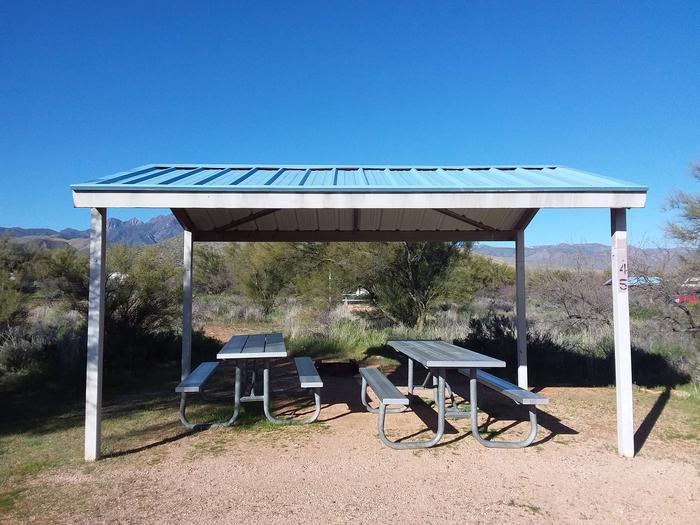 Campsite 45 at Cholla Campground.Campsite 45, Cholla Campground