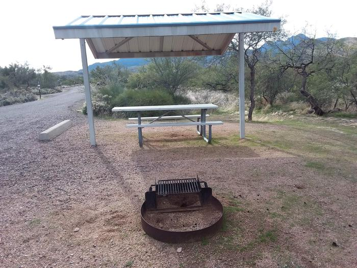 Campsite 57 at Cholla CampgroundCampsite 57, Cholla Campground